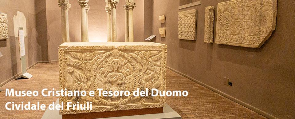 L'altare di Ratchis e il Battistero di Callisto al Museo Cristiano di Cividale del Friuli