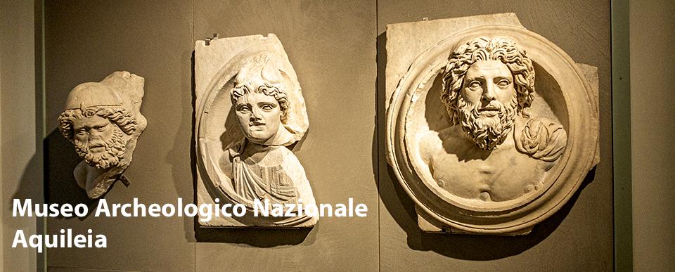 Elementi monumentali al Museo Archeologico Nazionale di Aquileia